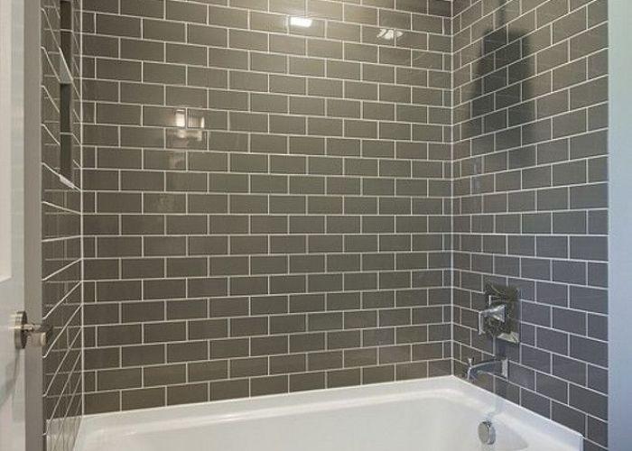 best bathroom remodel ideas  makeovers design subway tilesgrey also tubs gray in