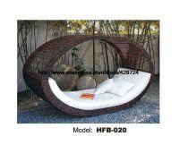 Bird's Nest Design Creative Rattan Sofa Bed Leisure Lying