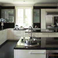Widescreen Kitchen Design Ideas Black Granite Of For Laptop Hd Pics Dark Granite Countertops And