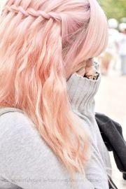 anime girl with light purple hair