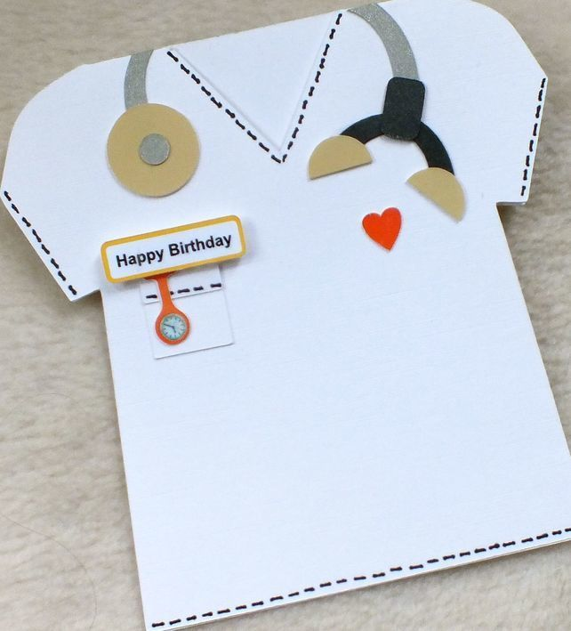 Special Doctor Vet Or Nurse Handmade Birthday Card
