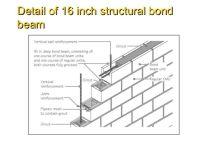 bond beam in masonry wall - Google Search   BDCS ...