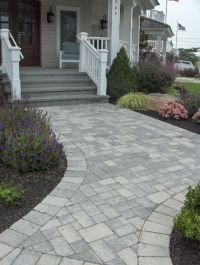 gray paver designs - Google Search | Outdoor Living Space ...