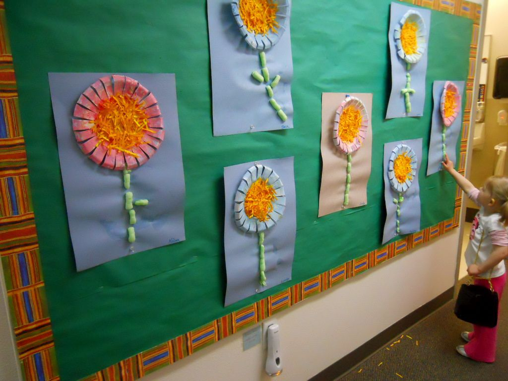 Easy Preschool Math With Flowers