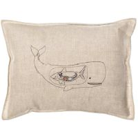 Very Hungry Whale Pillow | Whale pillow, Pillows and Products