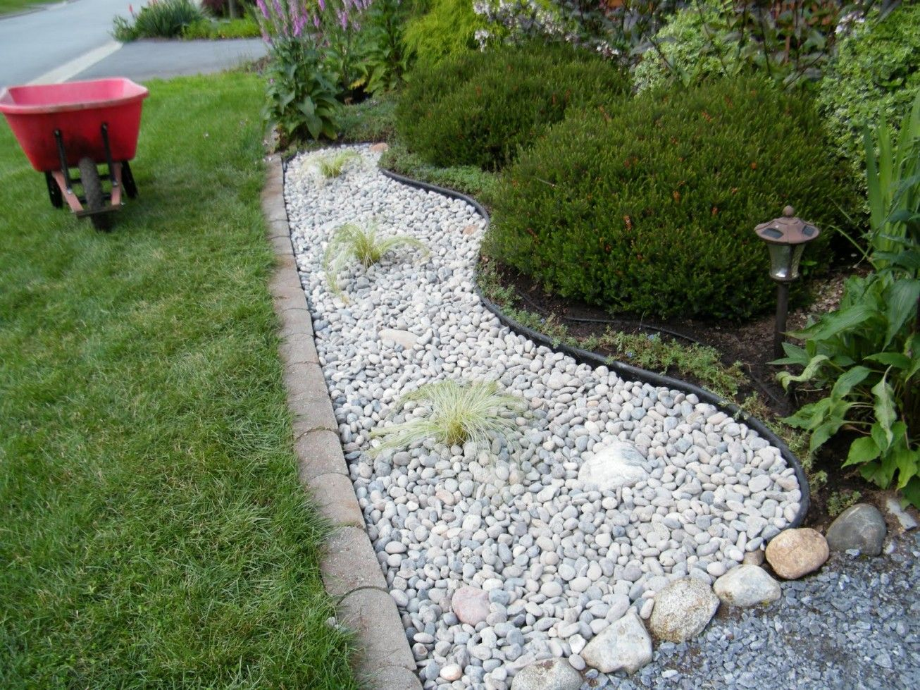 White Rocks For Landscaping Landscaping Pinterest Front