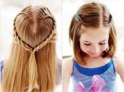 cool fun & unique kids braid design