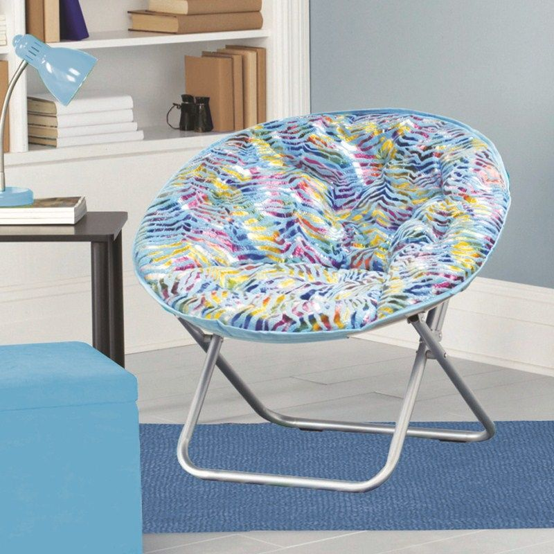 Saucer Chairs for Teens  Plush Saucer Chair  Turquoise