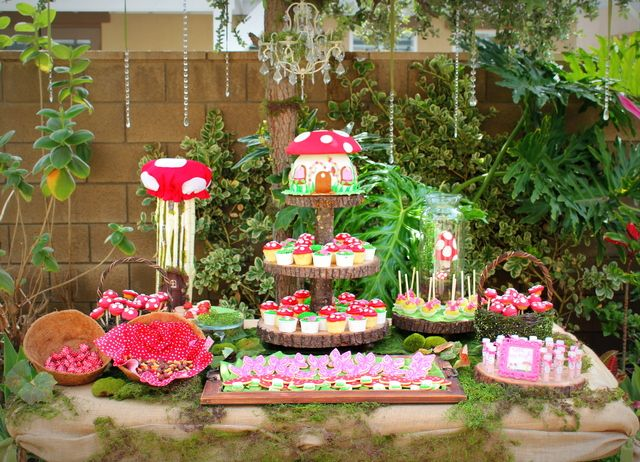 Woodland Fairy Birthday Party Ideas 116 Enchanted Forest Cake