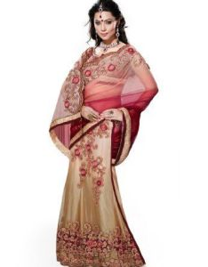 Blue  pink lehenga saree hypnotizing sarees pinterest and woman clothing also rh