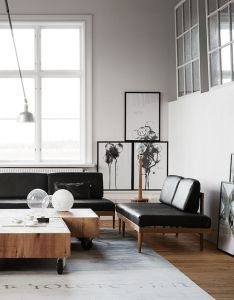 Swedish loft by photo kristofer johnsson also best furniture images on pinterest home live and living spaces rh