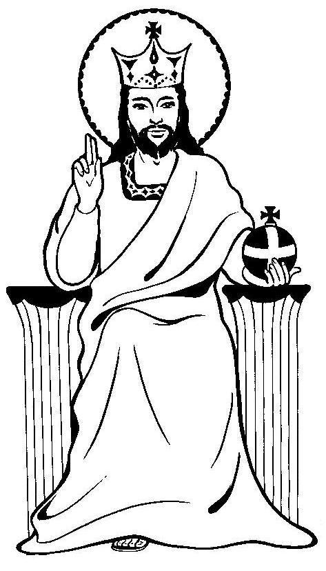 Christ the King Sunday Clip Art