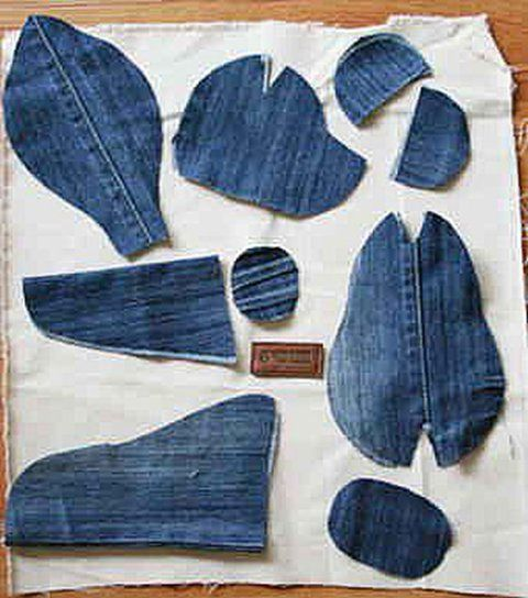 How To Make A Teddy Bear From Old Jeans Home Design Garden