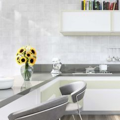 Wall Tiles For Kitchen How To Refinish Sink Miguel Grey Tile Ctm Stylish Kitchens Pinterest