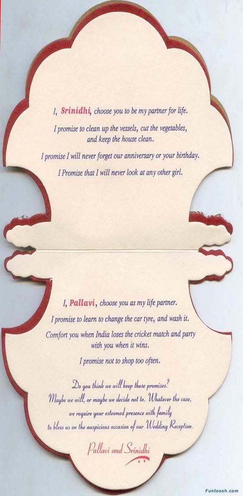 Personal Wedding Card Designs