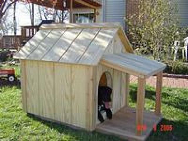 Build A Dog House With One Of These 15 Free Plans Sparky1 Free