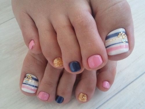 Easy Toe Nail Design Ideas To Do Art Home Nail Designs Latest