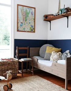 walls that are more than one color also famous interior designers rh pinterest