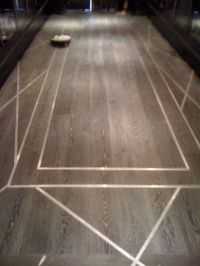 Wood Floor with Metal Inlay Design | Detail | Pinterest ...