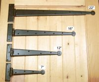 Strap Hinges: Rustic Strap Hinges, Decorative Hinges and ...