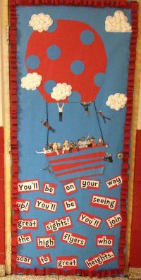 Dr. Seuss classroom door decoration | ABC's and 123's ...