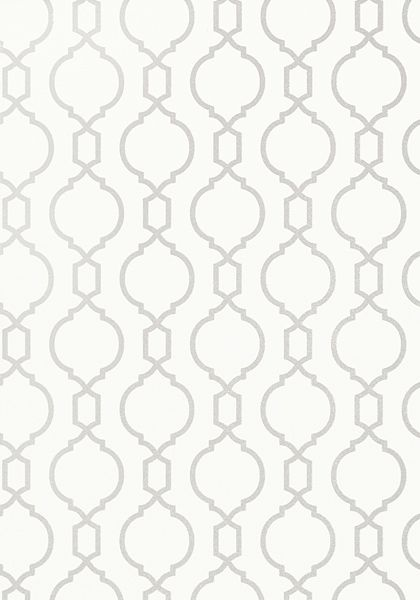 Nisido Bead #wallpaper in #white from the Geometric