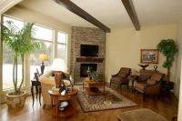 brick living room corner fireplace | Brick Corner ...
