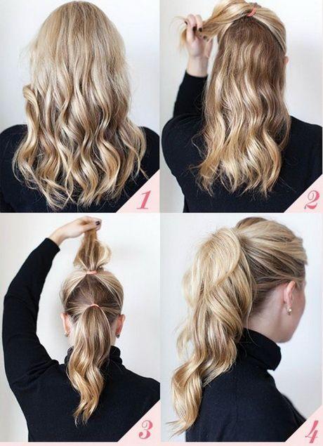 Leichte Frisuren Für Den Alltag Haare Beatuy Pinterest