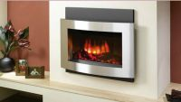 contemporary wall hung electric fireplace | Fireplaces ...