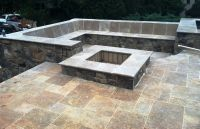 tumbled stone fire pits | Premier Stone and Tile | Natural ...