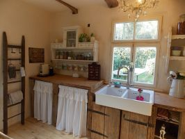 Farmhouse kitchen   Landhaus Küche   shabby chic   altes ...