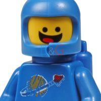 LEGO Movie Benny Minifigure 1980 Space Guy from MetalBeard ...