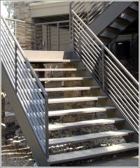 outdoor steps designs | Aluminum Outdoor Stairs, Aluminum ...