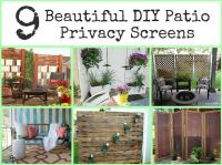DIY Outdoor Privacy Screen | Interesting Ideas for Home ...