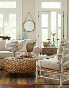 cozy and stylish coastal living room decor ideas also rustic beige beach cottage birch lane catalog bliss rh pinterest
