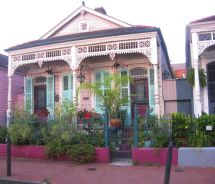 New Orleans French Quarter House