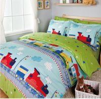 Train bedding sets/kids bed/bed cover set/sheets for bed ...