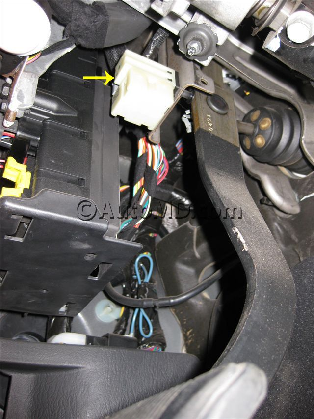 How To Replace Brake Light Switch On Brake Pedal