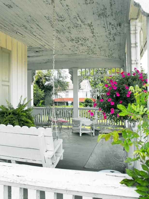 Shabby Chic Decorating Ideas For Porches And Gardens Gardens