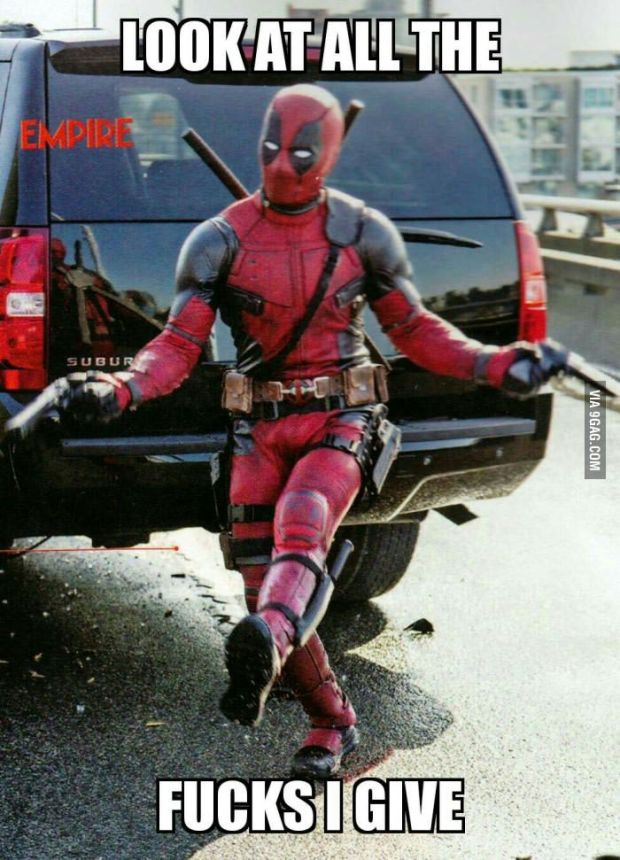 Image result for deadpool reacts to bad reviews memes