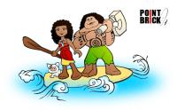 Disegni da Colorare LEGO - Disney Princess Oceania - Moana ...