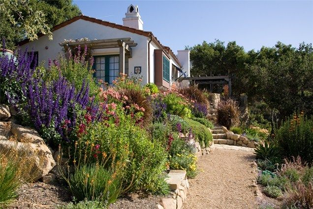 Crushed Gravel Path Southern California Landscaping Grace Design