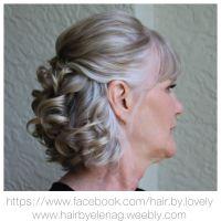 Bridal hair, wedding hair, mother of the groom
