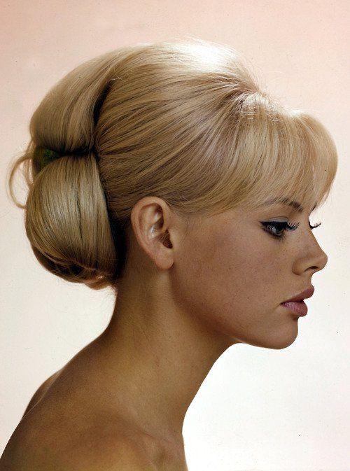 60s Hair Updo 60s Updo Hairstyles Vintage Hair Pinterest