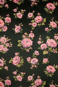 Black roses floral wallpaper - Vintage Wallpapers ...