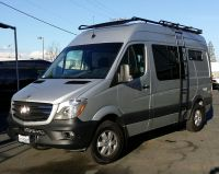 Mercedes Sprinter 4x4 with Aluminess off-road touring roof ...