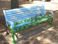 painted bench - Google Search |   | Pinterest ...