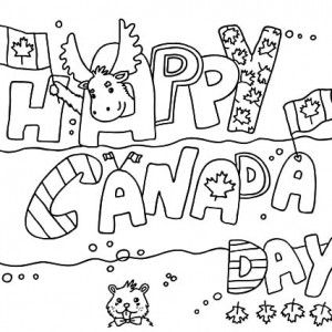 Make Use of Canada Symbol for 2015 Canada Day Coloring