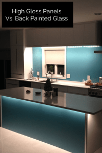 How to compare back painted color coated glass to high ...