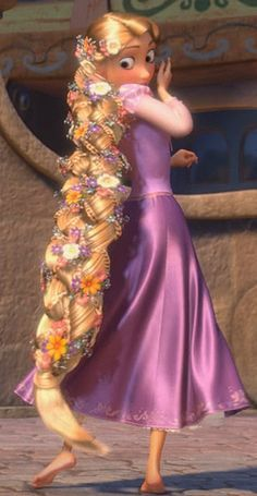 Rapunzel Has A Beautiful Braid Disney Pinterest Rapunzel